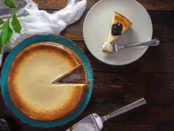 プラントベースのチーズケーキ