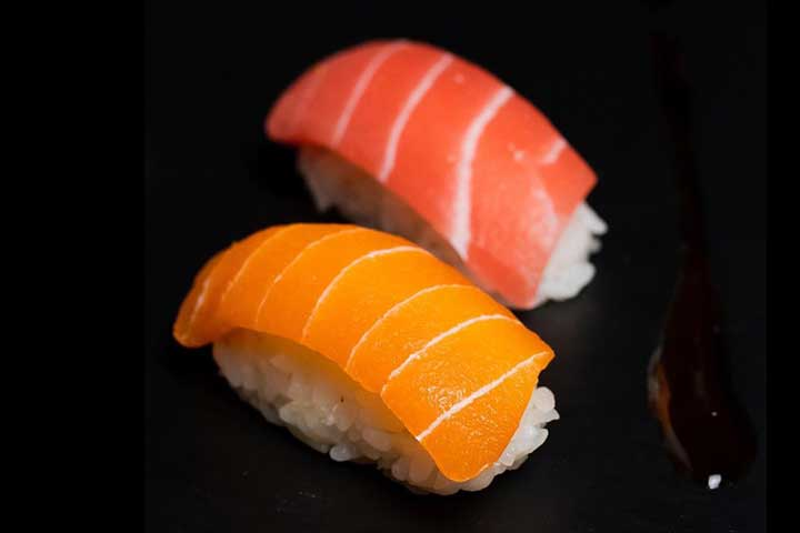 次世代技術でプラントベース寿司が実現