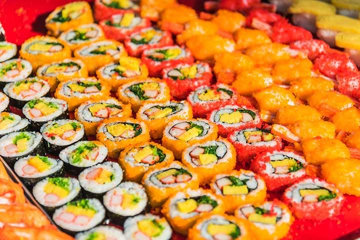 ビーガン向けに広まったベジ寿司